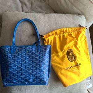 goyard mini anjou bag reversible